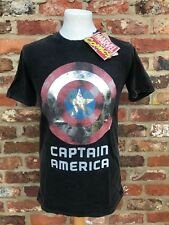 Captain America Marvel Comics Officially Licensed  Minute Mirth T-shirt M 38in
