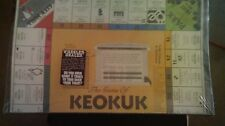 THE MONOPOLY GAME OF THE CITY OF  KEOKUK IOWA  1980'S NEVER OPENED