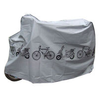 Universal Bicycle Cover Waterproof Bike Moped Scooter Sheet UV Weather Shelter