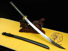 HIGH QUALITY JAPANESE NINJA SECT SHRINE SAMURAI SWORD KATANA FOLDED STEEL #3709