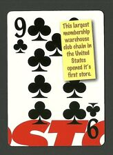Costco Warehouse First Store Opens Neat Playing Card #3Y8