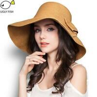 Summer hats for women straw hat beach hats for women sun hats wide brim floppy