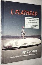 I, Flathead by Ry Cooder CD + Book 2008 Nonesuch 465916-2 Kash Buk & the Klowns