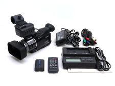 Sony HVR-A1U HDV camcorder 1080i NTSC HD camera cineframe 24/30 XLR audio