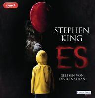 DAVID NATHAN - STEPHEN KING:  ES (MP3)  5 MP3 CD NEW
