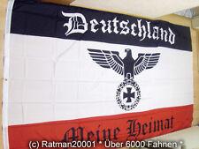 Fahnen Flagge Deutsches Reich Deutschland Meine Heimat Reichsadler - 150 x 250