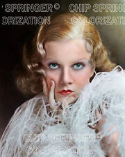 JEAN HARLOW IN  RED HEADED WOMAN (BOA) BEAUTIFUL COLOR PHOTO BY CHIP SPRINGER