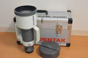 [Near Mint Opt Mint]SMC PENTAX-A 600mm F/5.6 ED IF Lens From +Trunk Case JAPAN