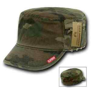 Rapid Dominance French Round Bill Fatigue Cadet Military Army Caps Hats