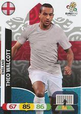 THEO WALCOTT # ENGLAND CARD PANINI ADRENALYN EURO 2012