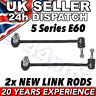 2 x BMW 5 Series E60 FRONT ANTI ROLL BAR (ARB) DROP LINK RODS Left & Right