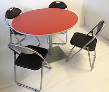 pedestal bistro cafe meeting canteen office banquet dining round table chairs rd