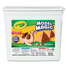 Crayola Model Magic Modeling Compound Assorted Natural Colors 2 lbs. 232412