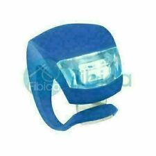 New Rinni Bike Cycling Frog Led Front Head Rear Light Waterproof Lamp Blue Fg