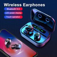 2019 Bluetooth 5.0 Headset TWS Wireless Earphones Mini Earbuds Stereo Headphones