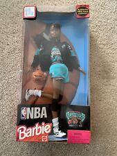 1998 Nba Barbie Vancover Grizzlies African American Nrfb