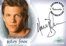 Buffy Men of Sunnydale Auto Card A2 Marc Blucas as Riley Finn
