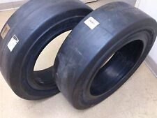 10-16.5 Safetymaster Solid Skid Steer Tires SET OF 2 SMOOTH NO FLATS 31x10-20