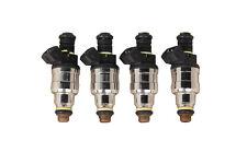 New 4pc 650cc 60LB Fuel Injectors For BMW E30 S14 M10 Turbo DOHC 420a TT EV1