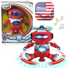 Electronic Walking Dancing Smart Space Robot Astronaut Kids Music Light Toys Us
