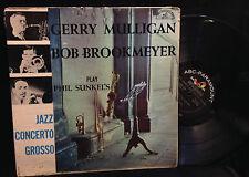 Gerry Mulligan/Bob Brookmeyer-Play Phil Sunkel's Jazz Concerto Grosso-Paramount