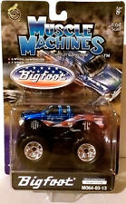 BIGFOOT FORD MIB 2003 MUSCLE MACHINES MONSTER JAM TRUCK 1/64