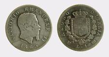 pci4507) VITTORIO EMANUELE II (1861-1878) 1 LIRA STEMMA 1863 MI AR