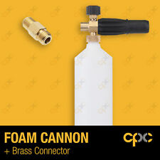 Foam cannon with 13mm M-M connector pressure washer lance Foam canon car wash