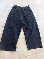 pantalon oversize ELEMENTE CLEMENTE Oska neuf 100% LAINE BOUILLIE  NOIR T 4