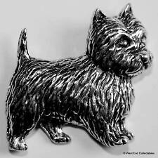 Cairn Terrier Pewter Pin Brooch - British Hand Crafted - Greyfriar's Bobby Dog