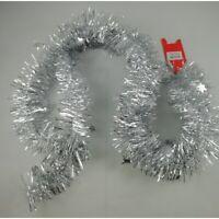 Guirlande Argentée 192 cm étoile d'Argent Noël Décoration Sapin Maison