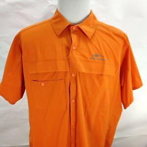 New Grundens Hooksetter Fishing Outdoor Shirt UPF 50 Water Resistant Men's 3XL