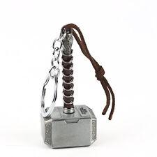 Metal Keyring Marvel Avengers Thor Thor's Hammer Keychain Bag Handbag Car Charm