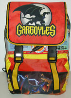 1 ZAINO SCUOLA VINTAGE BACKPACK DISNEY BAG CARTOON 1994-GARGOYLES gargoyle,golia