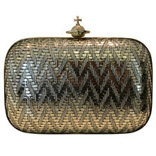 Vivienne Westwood Small clutch Grace Gold