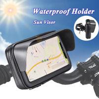 Upgrade Bicycle Motorcycle Bike Phone GPS Waterproof Case Holder Mount