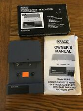Kraco Stereo Cassette Adaptor 8 Track Tape Players Model KCA 7 NOS