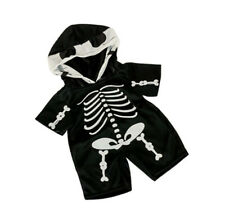 Adorable Skeleton Outift Fits Most 16 inch Build A Bear and Make Your Own Stuffe