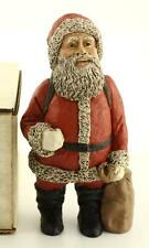 New All Gods Children Martha Holcombe 1315 St Nicholas White Santa Figurine