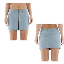 Denim Mini Petite Skirts for Women