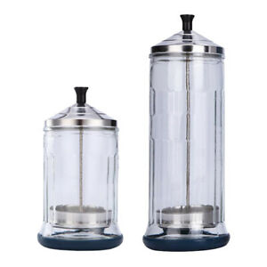 Disinfecting Sterilizing Disinfection Jar for Barber Salon Nail Art Tools
