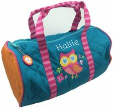 Personalised Childrens Toddler 'Owl' Duffle Bag. Back To School.