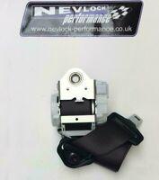 OEM NEW VAUXHALL ADAM FRONT DRIVERS SEAT BELT BLACK 13405568