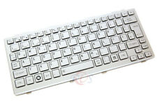 ORIG. QWERTZ Tastiera Per Toshiba nb300 nb305 Series de argento Nuovo!