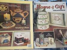 Home & Gift Treasures Painting Book-Schreiner-Strawberries/Coffee/School/Flowers