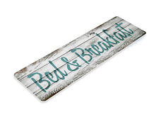TIN SIGN B467 Bed and Breakfast Cottage Rustic Sign Decor