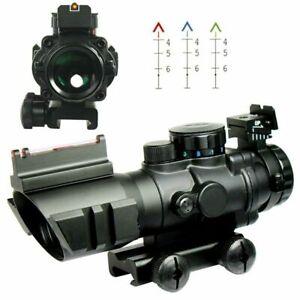 Tactical 4X32Air Rifle Optics Sniper Scope Cross-Hair Reticle Compact Riflescope