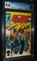 G.I. JOE, A REAL AMERICAN HERO #32 1985 Marvel Comics CGC 9.8 NM/MT