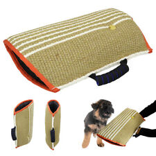 Strong Dog Bite Arm Sleeve Soft Jute Cover for Bite Protection Chew Training Toy
