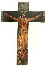 Jesus am Kreuz Volkskunst Unikate aus PERU Kolonialstil Hoz